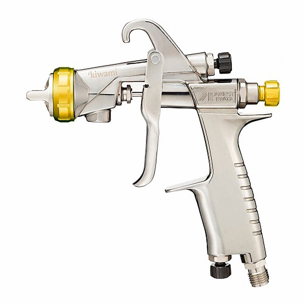 Anest Iwata KIWAMI-1-16B2 Gravity Feed Spray Gun 1.6mm Nozzle