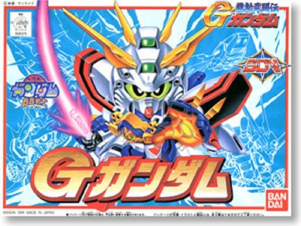Bandai SD BB 138 Gundam God Gundam Plastic Model Kit