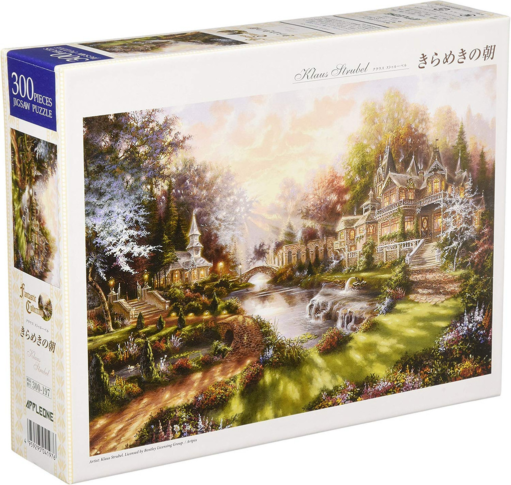 APPLEONE Jigsaw Puzzle 300-197 Klaus Strubel Morning Sparkle (300 Pieces)