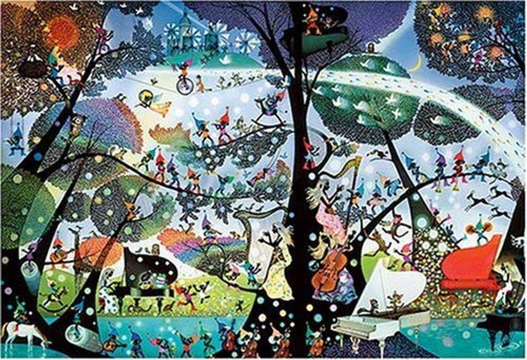 APPLEONE Jigsaw Puzzle 300-216 Paradise of Elf (300 Pieces)