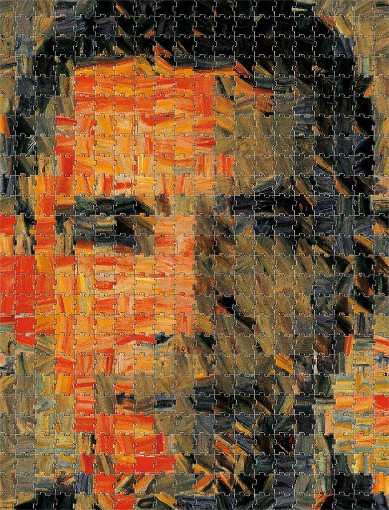 Tenyo Japan Jigsaw Puzzle TJ-520-613  Sefl-Portrait Puzzle (520 Pieces)