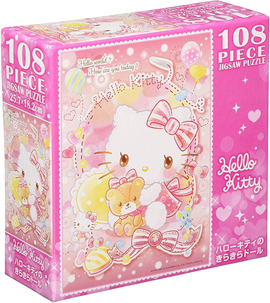 Beverly Jigsaw Puzzle 108-833 Hello Kitty Jigsaw (108 Pieces)