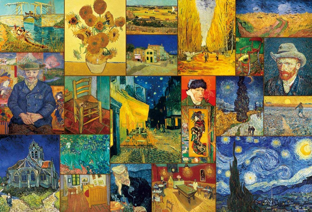 Beverly Jigsaw Puzzle 31-452 Van Gogh Collections (1000 Pieces)