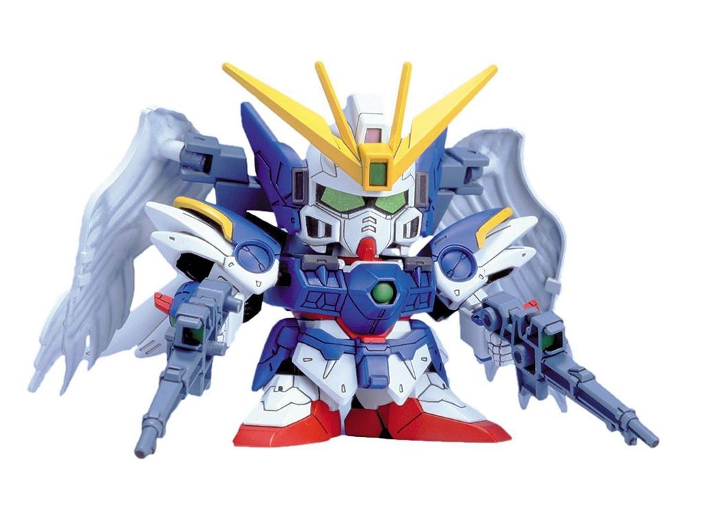 Bandai SD BB 203 W Gundam Zero Custom Plastic Model Kit