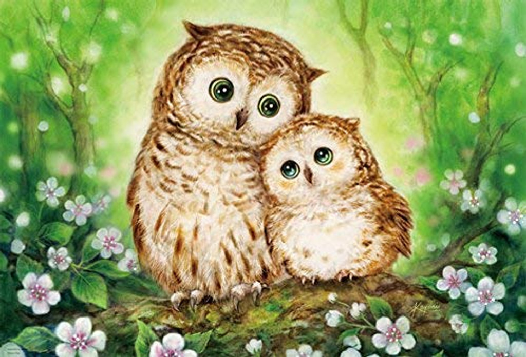 Beverly Jigsaw Puzzle 31-481 Happy Owls Kayomi Harai (1000 Pieces)
