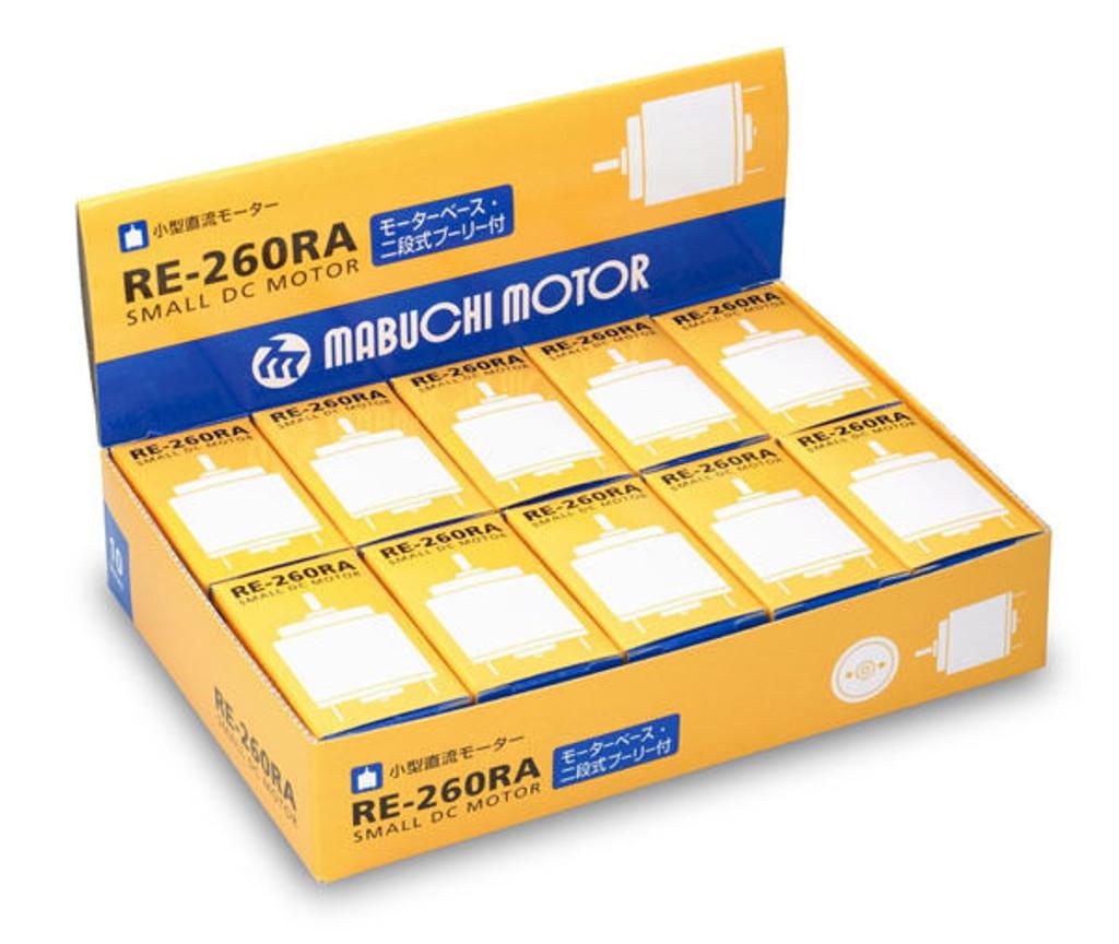 (10 PCS) Mabuchi RE-260RA Small DC Motor (RE-260) 4580265062617