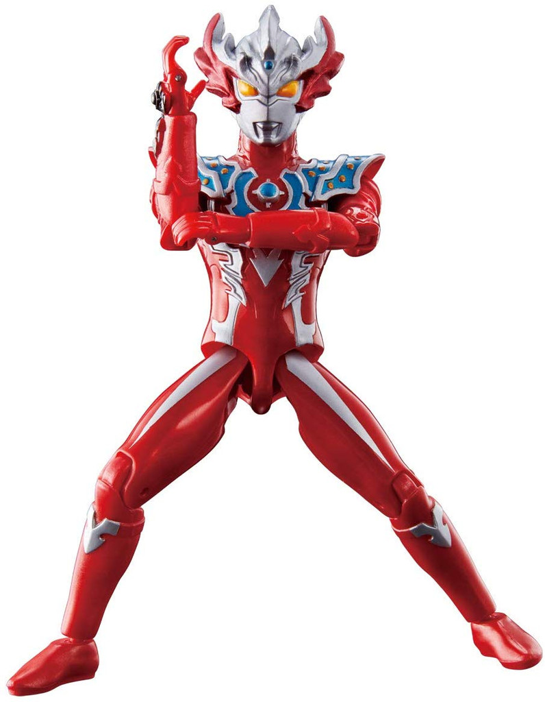 Bandai Ultraman Ultra Action Figure Ultraman Taiga Tri-Strium