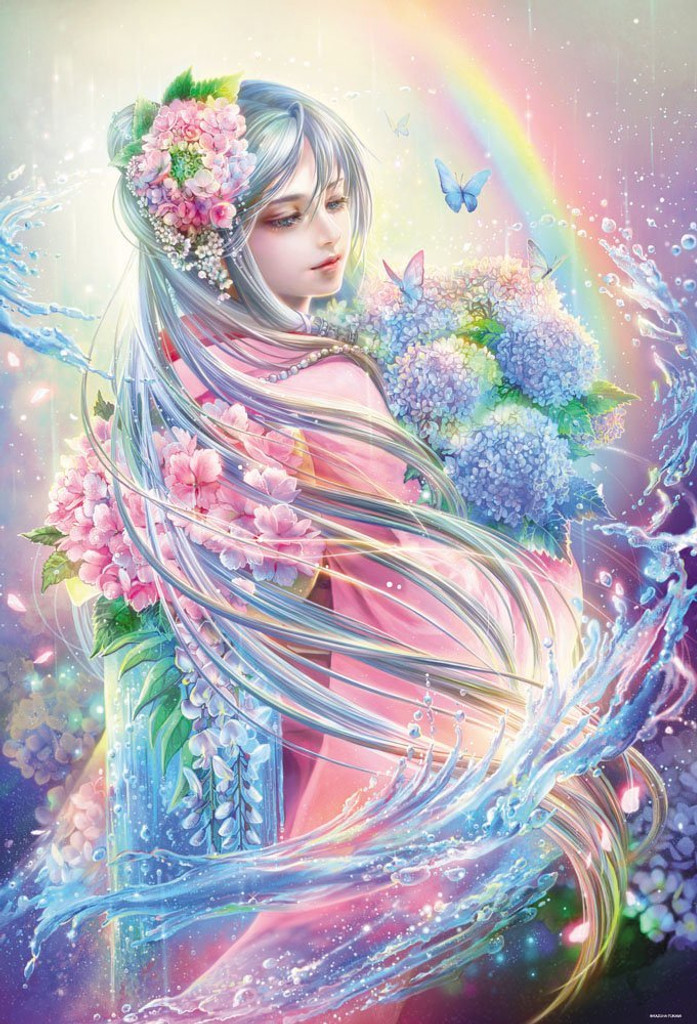 Beverly Jigsaw Puzzle 81-108 The Goddess of the Waves (1000 Pieces)