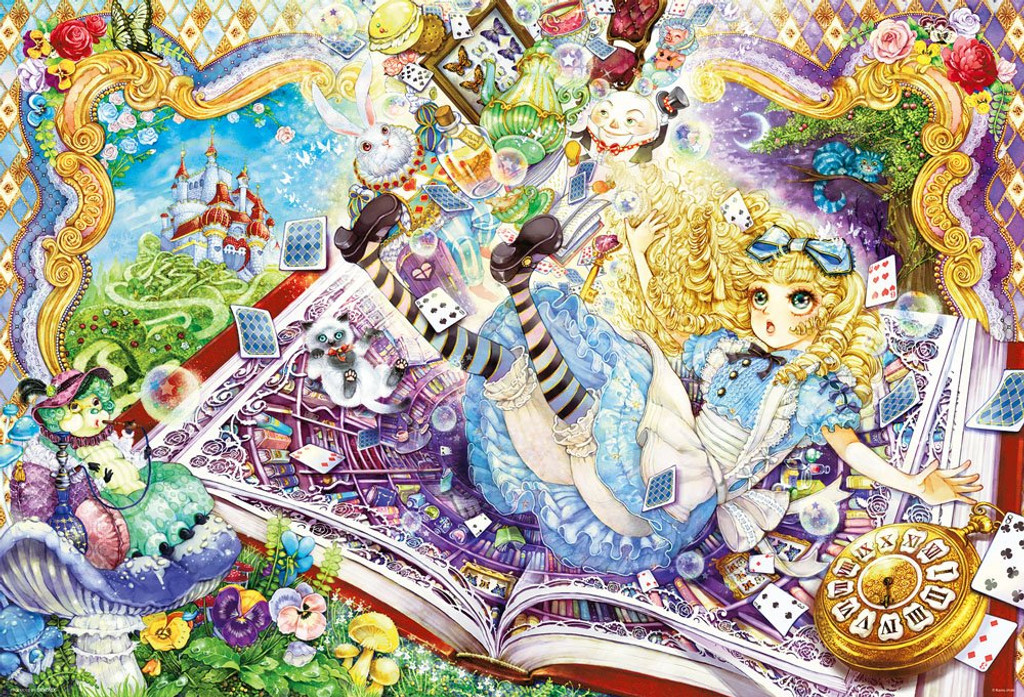 Beverly Jigsaw Puzzle 91-132 Alice to the Wonderland (1000 Pieces)