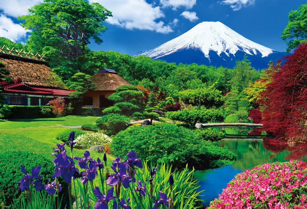 Beverly Jigsaw Puzzle B51-219 World Heritage Oshino Fuji  (300 L-Pcs)