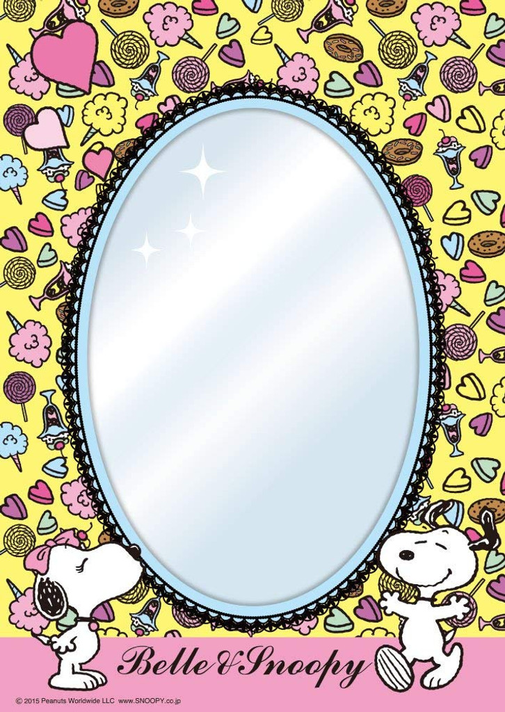 Beverly Jigsaw Puzzle BET-005 Mirror Puzzle Peanuts Snoopy and Sweets (65 Pieces)