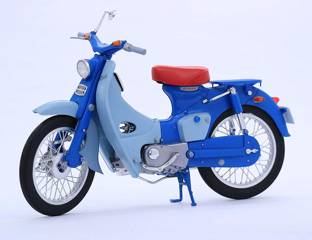 Aoshima 41855 Bike 21 HONDA SUPER CUB C100 (1958) 1/12 scale kit