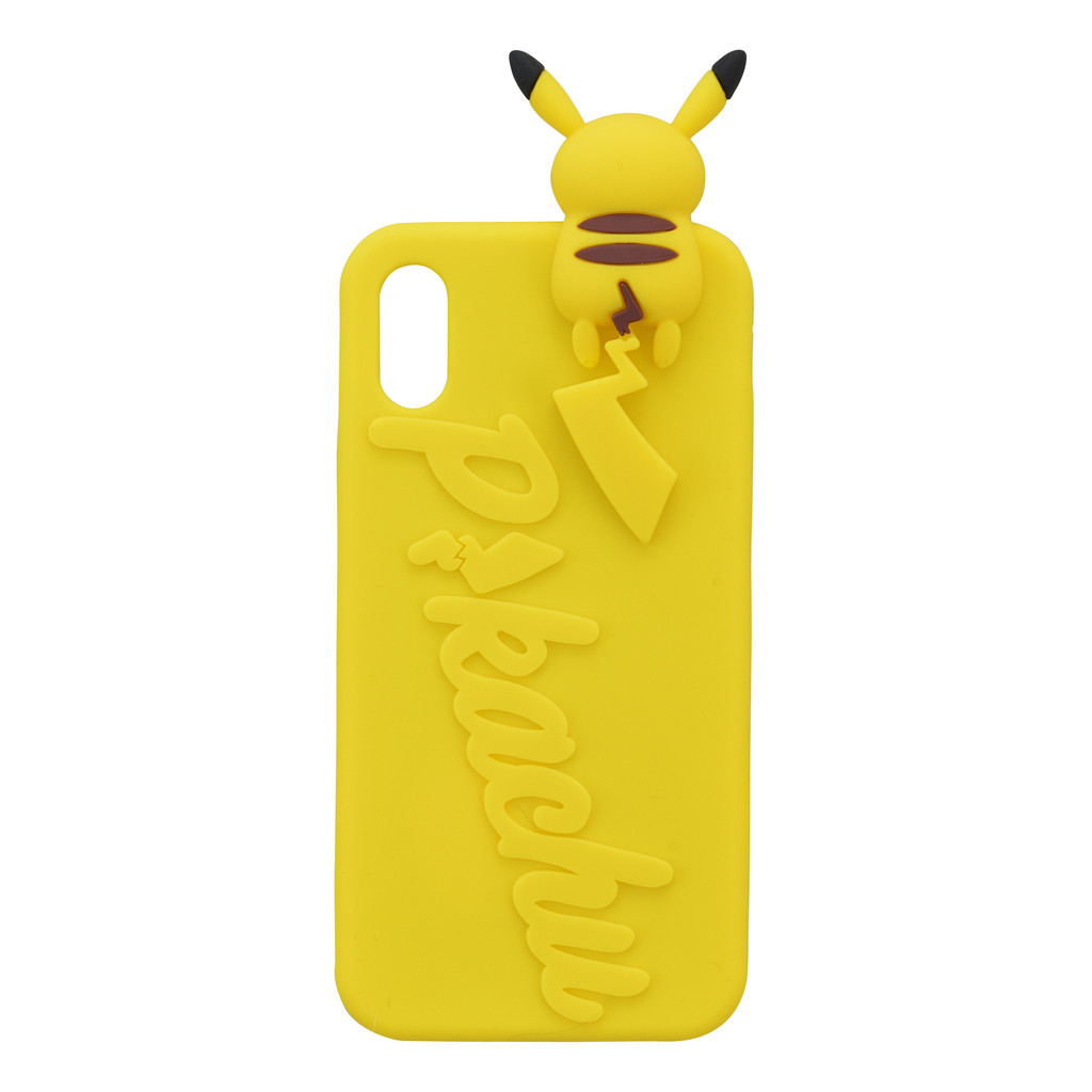 Pokemon Center Original Silicone Case for iPhone Xs / X Peek a boo Pikachu