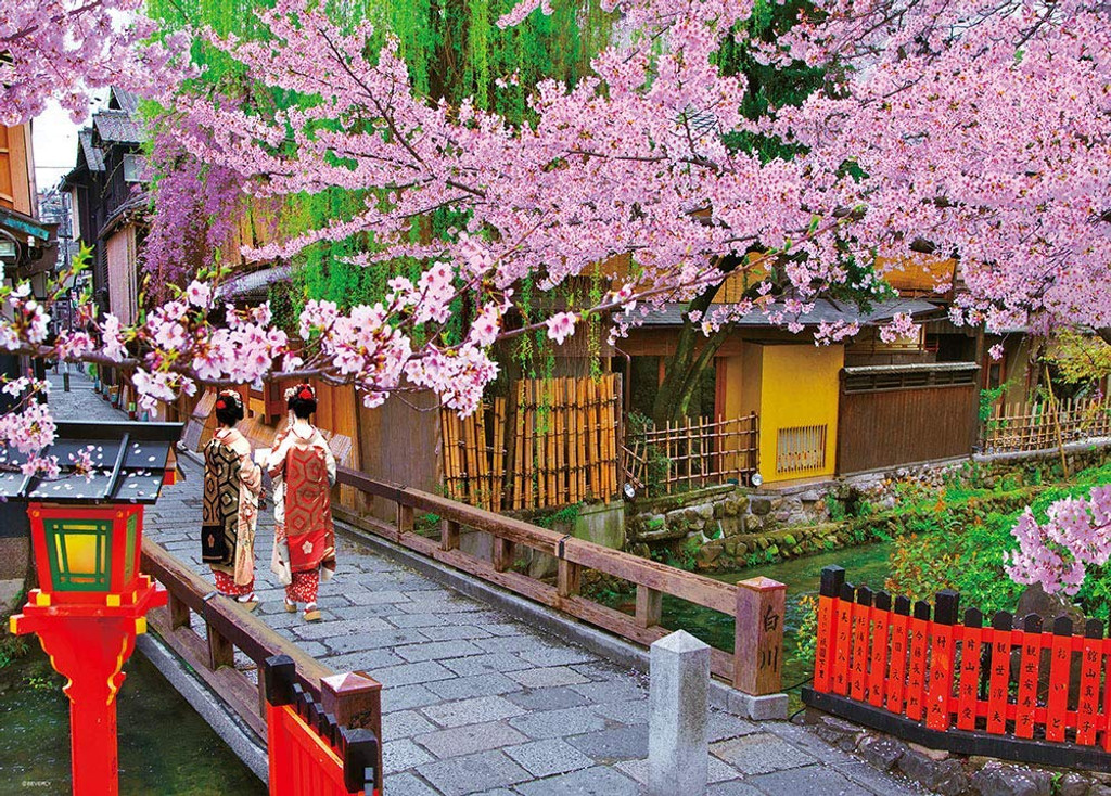 Beverly Jigsaw Puzzle 66-140 Japan Kyoto Gion in Bloom (600 Pieces)
