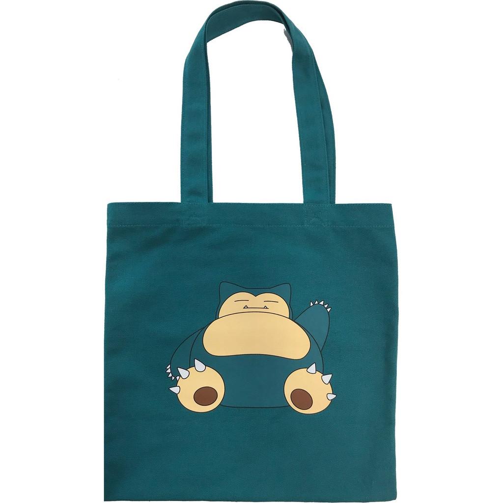 Pokemon Center Original Color Tote Bag Snorlax