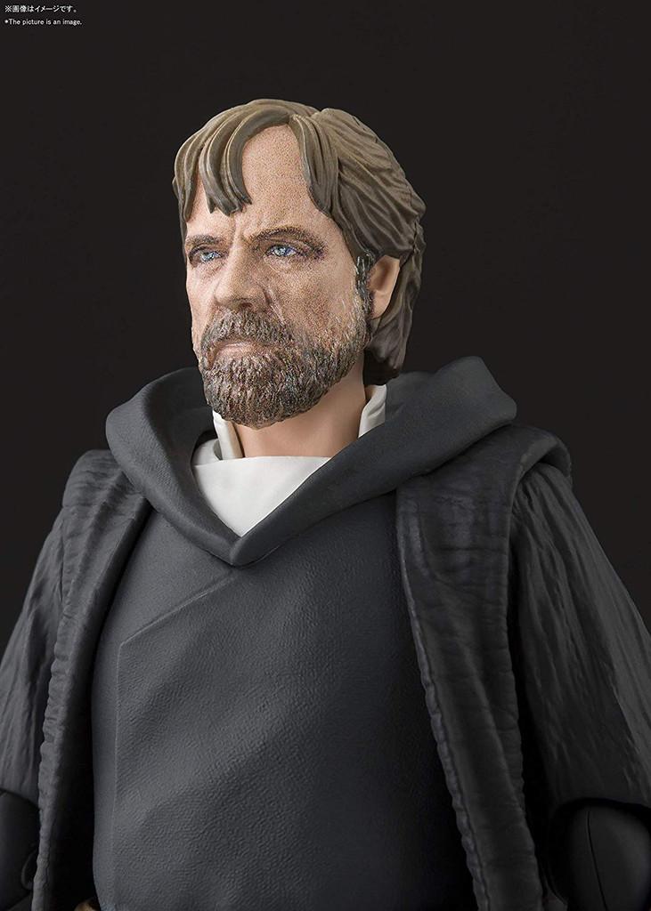 Bandai S.H. Figuarts Luke Skywalker Battle of Crait Ver. (Start Wars The Last Jedi)