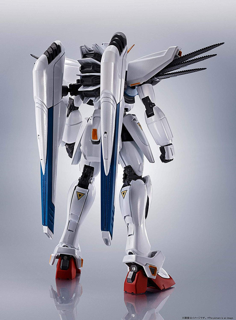 Bandai Robot Spirits (Side MS) Gundam F91 EVOLUTION-SPEC Figure