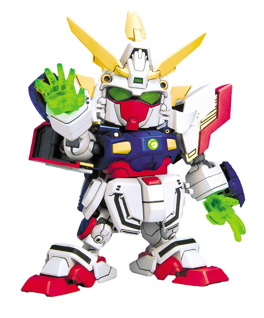 Bandai SD BB 239 Shining Gundam Plastic Model Kit
