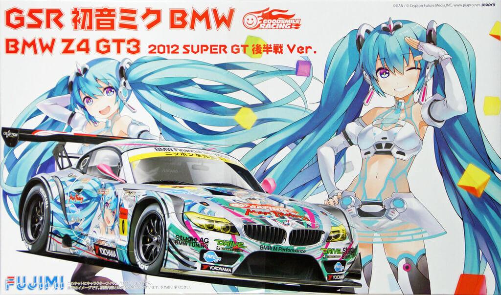 Fujimi 170091 BMW Z4 GT3 Hatsune Miku 2012 Super GT 2nd Half Version 1/24 Scale Kit