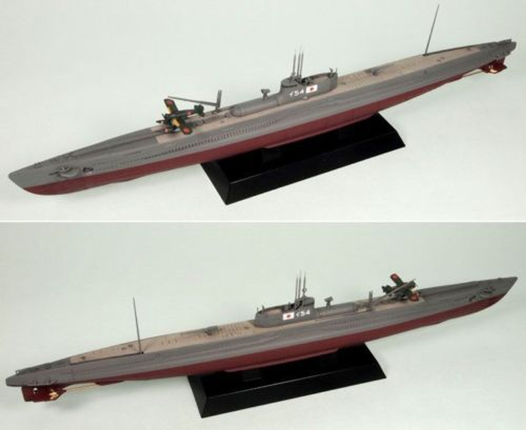 Pit-Road Skywave WB-11 IJN Japanese Submarine I-54 (Commission) 1/350 Scale Kit