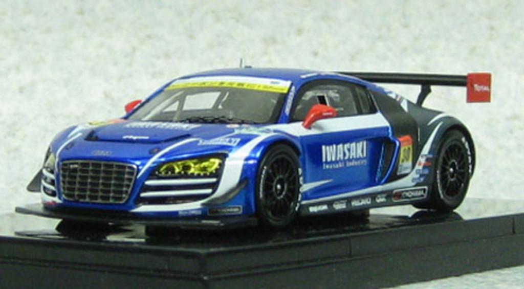 Ebbro 44933 IWASAKI apr Audi R8 LMS Ultra SGT300 2013 (Resin Model) 1/43 Scale