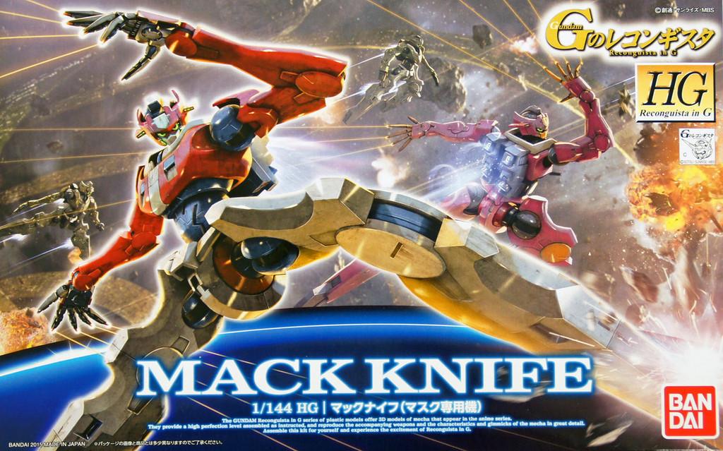 Bandai Reconguista in G G010 Gundam Mack Knife 964229 1/144 Scale Kit