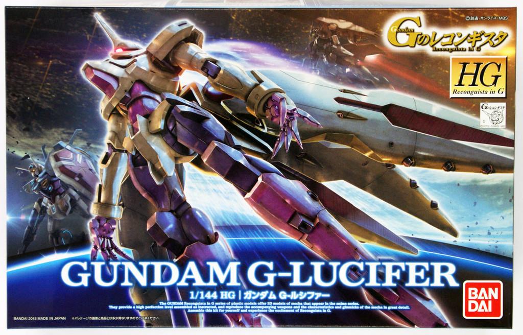 Bandai Reconguista in G G011 Gundam G-Lucifer 1/144 Scale Kit