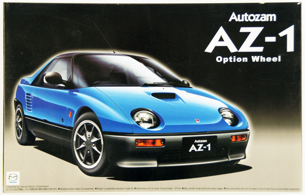 Aoshima 48719 Autozam AZ-1 Option Wheel 1/24 Scale Kit