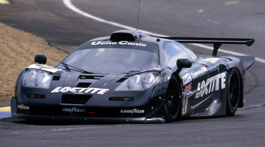 Aoshima 07457 McLaren F1 GTR 1998 Le Mans 24H Loctite #41 1/24 Scale Kit