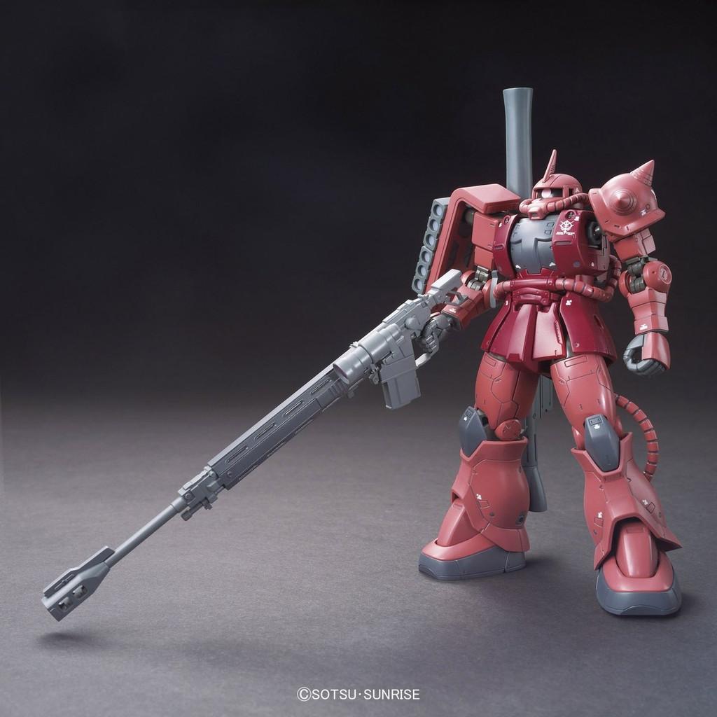 Bandai 964236 Gundam The Origin 001 MS-06S ZAKU II 1/144 Scale Kit