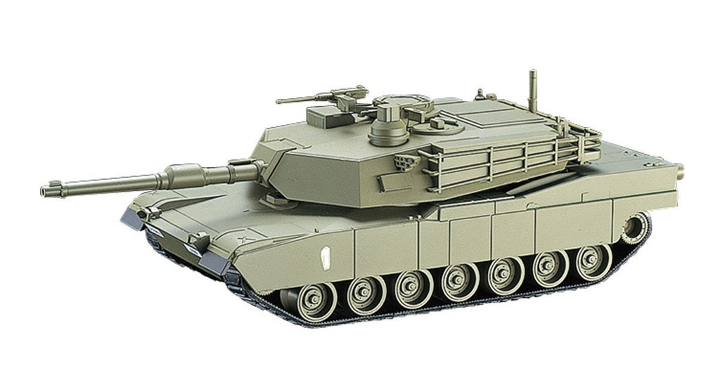 Aoshima 00809 RC AFV Series No. 5 US Army M1A2 Abrams 1/48 Scale Kit