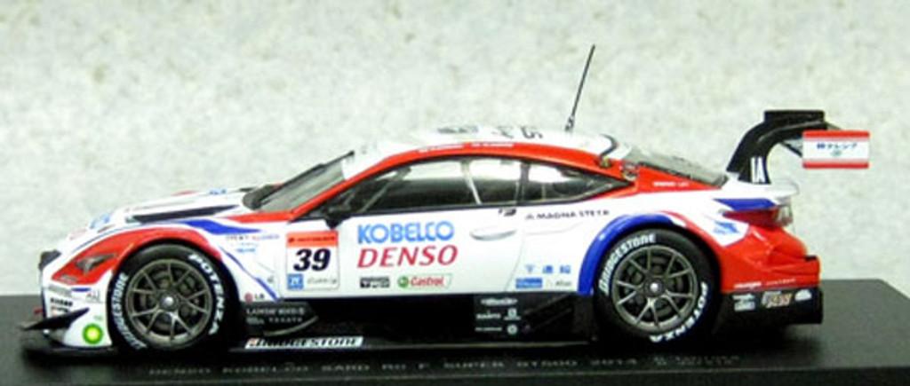 Ebbro 45068 DENSO KOBELCO SARD RC F SUPER GT500 2014 No.39 White 1/43 Scale