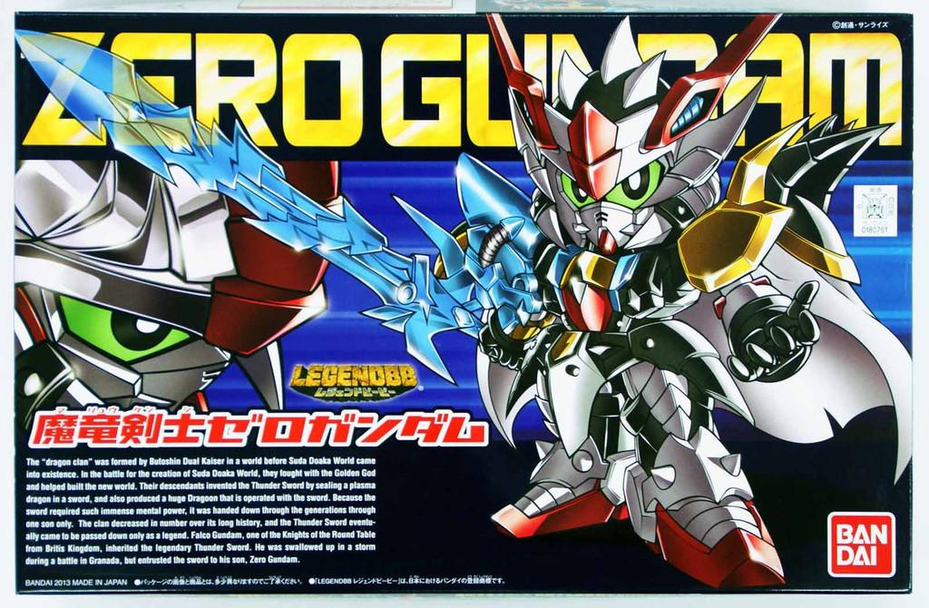 Bandai SD BB 378 Gundam Zero Gundam Plastic Model Kit