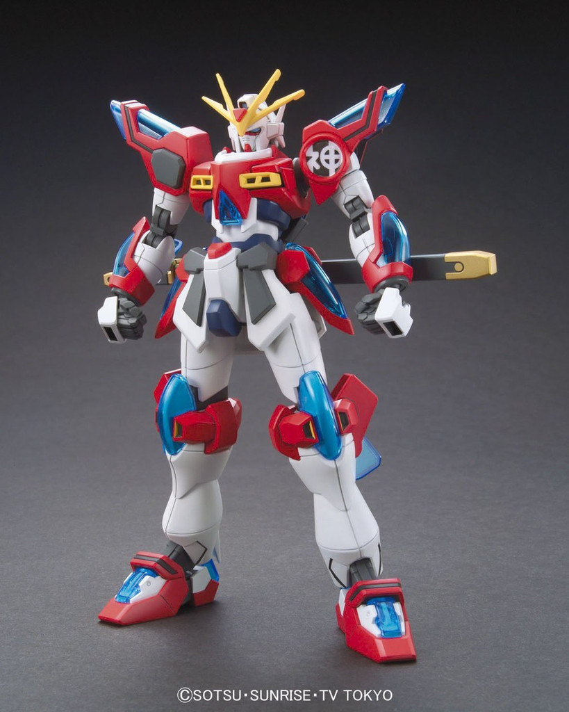 Bandai HG Build Fighters 043 KAMIKI BURNING Gundam 1/144 Scale Kit