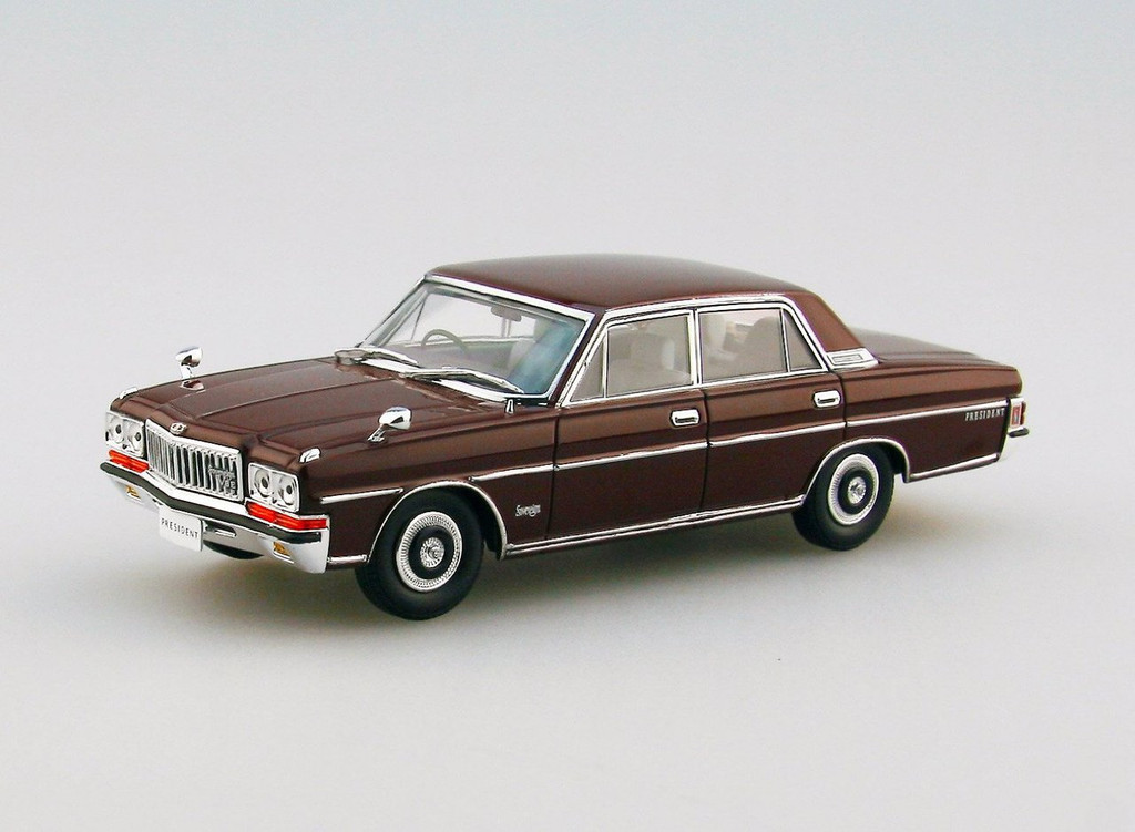 Ebbro 45321 Nissan President 252 Brown 1/43 Scale