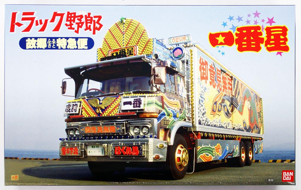 Aoshima 28544 Japanese Decoration Truck Ichiban Boshi 1/32 Scale Kit