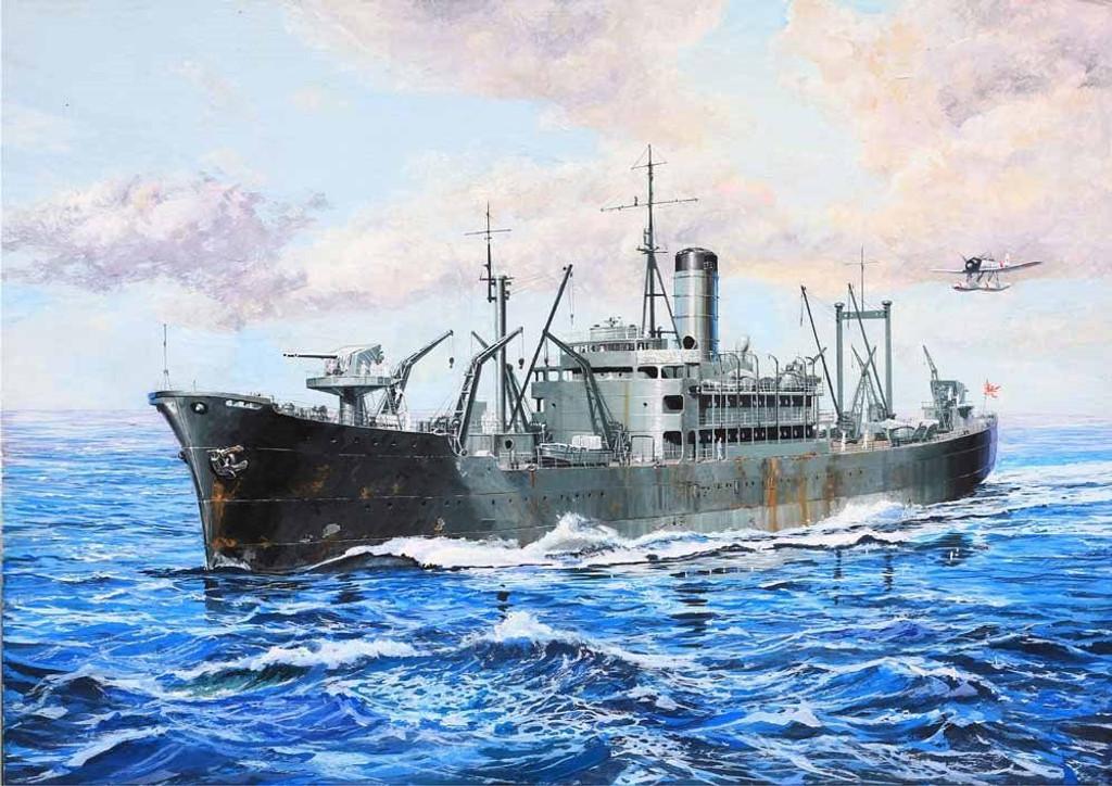Pit-Road Skywave W-178 IJN Food Supply Ship IRAKO 1941 1/700 Scale Kit