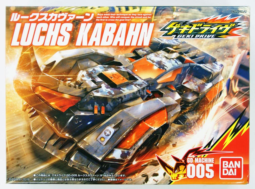 Bandai GEKI DRIVE GD-005 Luchs Kabahn Non Scale Kit 4549660060116