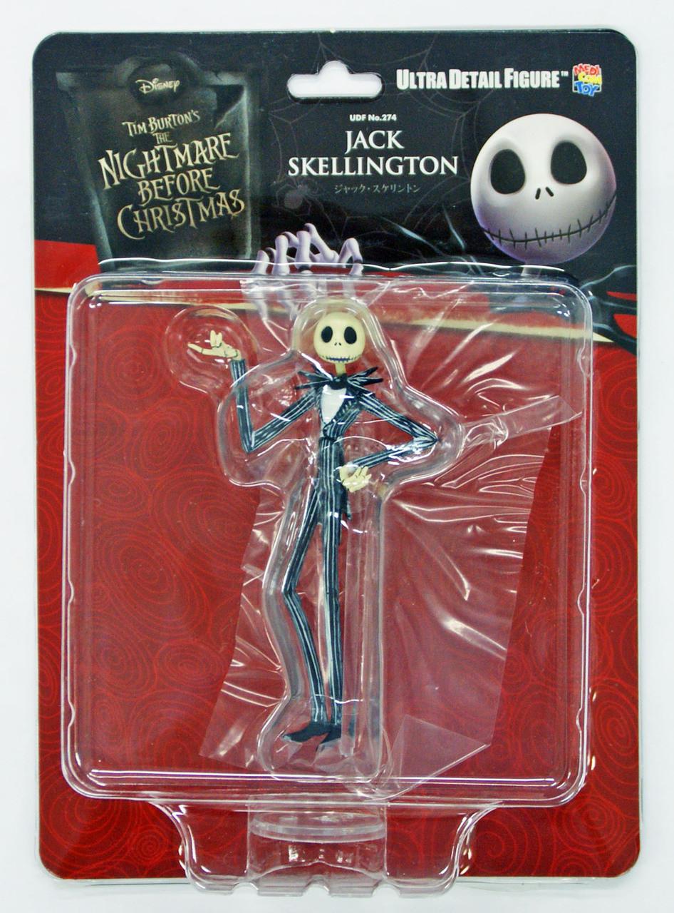 Medicom Toy UDF Jack Collection Jack Skellington Figure from Japan