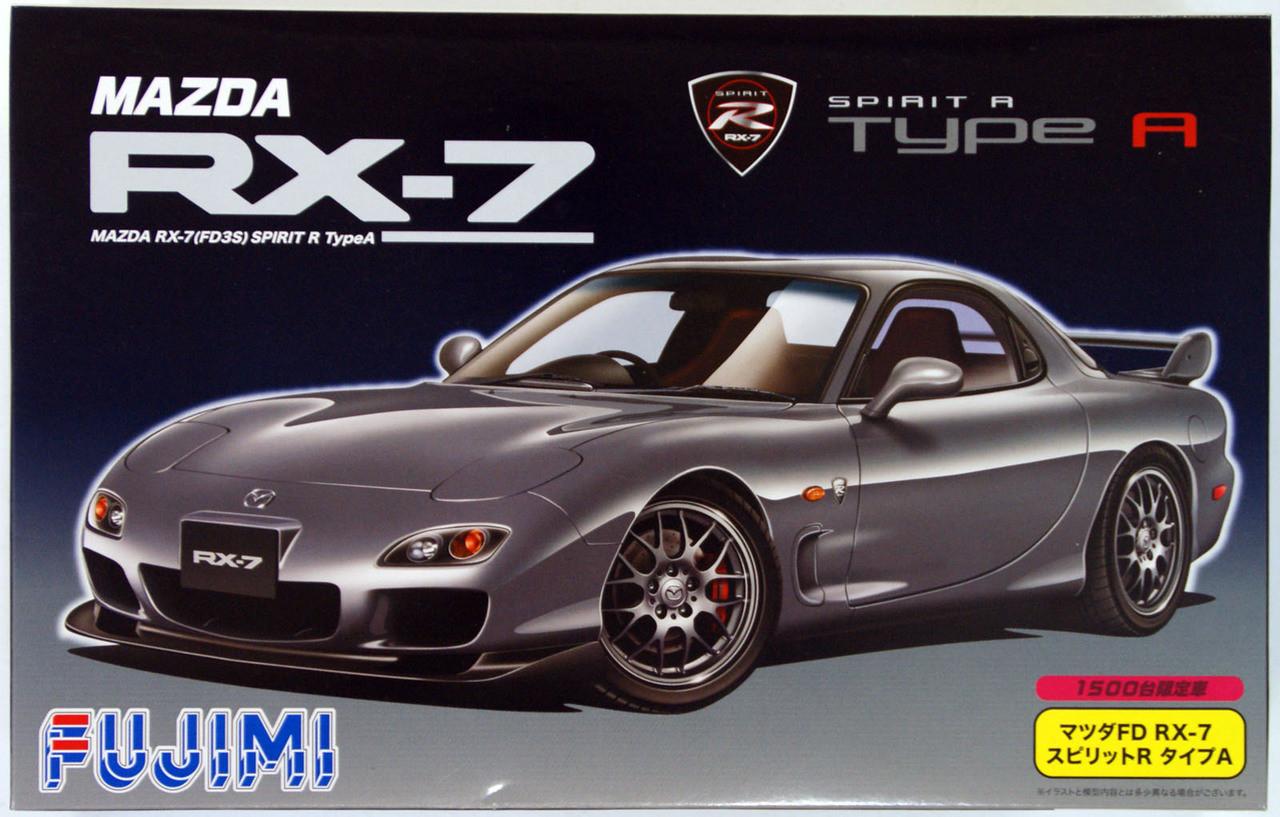 Aoshima 53584 MAZDASPEED FD3S RX-7 A-SPEC GT-C /'99 MAZDA 1//24 Scale Kit