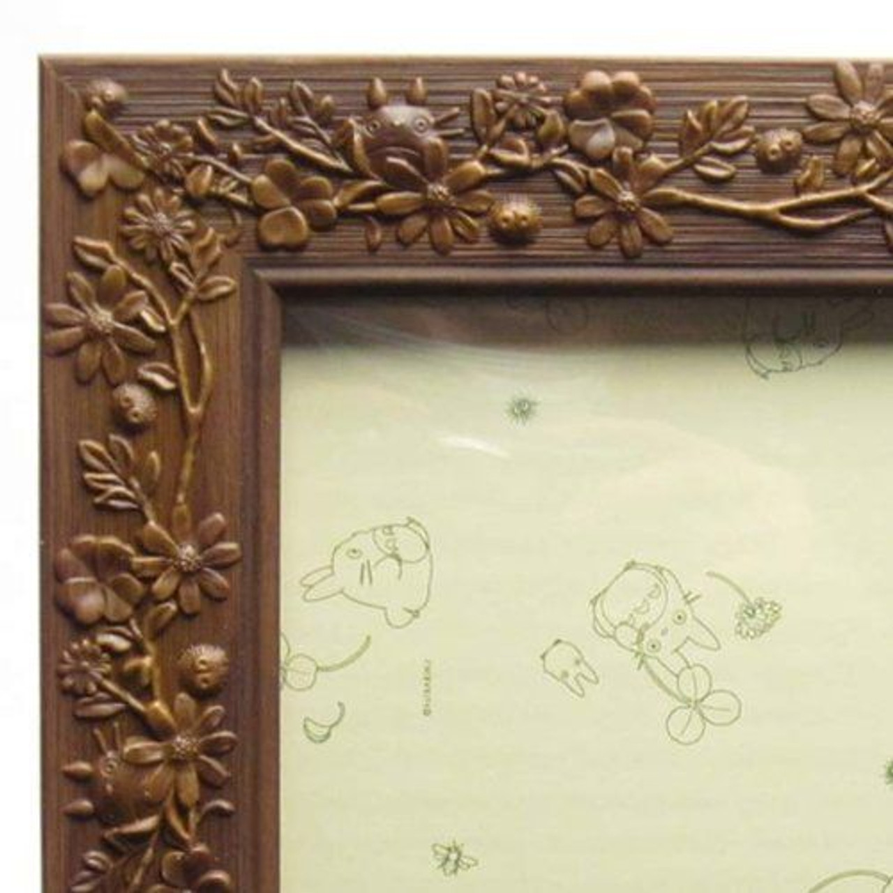 Puzzle frame Studio Ghibli only leaves green 26x38cm F//S w//Tracking# Japan New