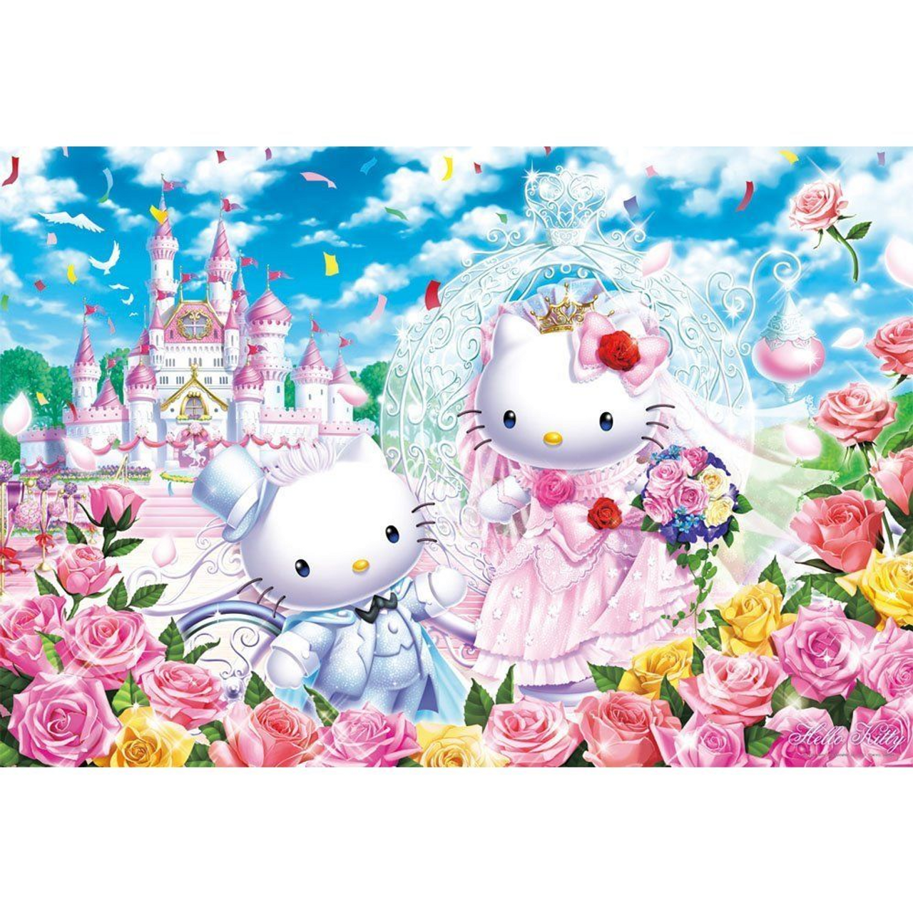 Jigsaw Puzzle 1000 Pieces Sanrio Hello Kitty Candy Shop Japan F//S