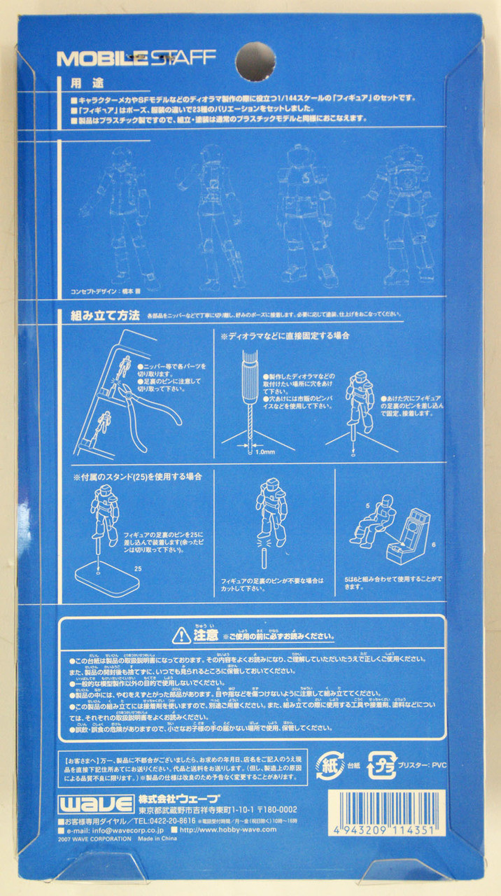 WAVE option system series 1//100 scale mobile staff