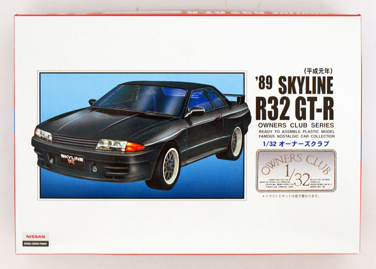 Microace Arii Owners Club 1//32 54 1989 Skyline R32 GT-R 1//32 scale kit