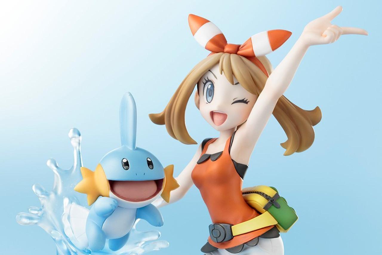 ARTFX J Pokemon Series Haruka With Mizugorou 1//8 Scale PVC Figure New In Box