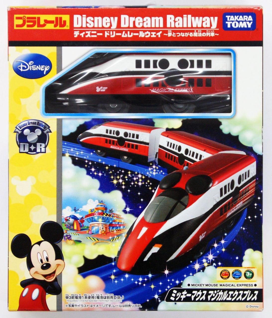 Takara Tomy Pla Rail Plarail Disney Dream Railway Mickey Mouse Magical Express 804079 Plaza Japan