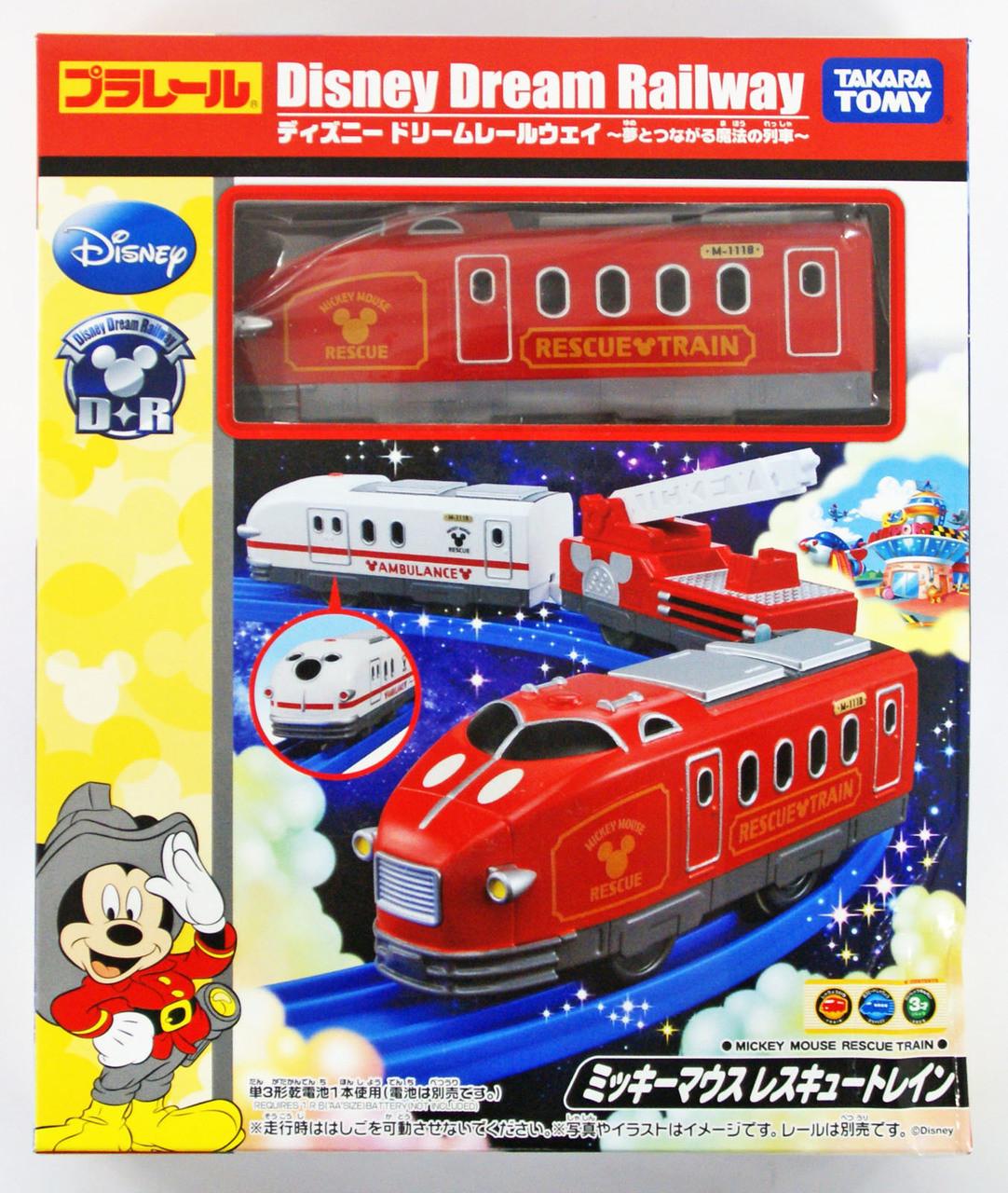 Takara Tomy Pla Rail Plarail Disney Dream Railway Mickey Mouse Rescue Train 863922 Plaza Japan