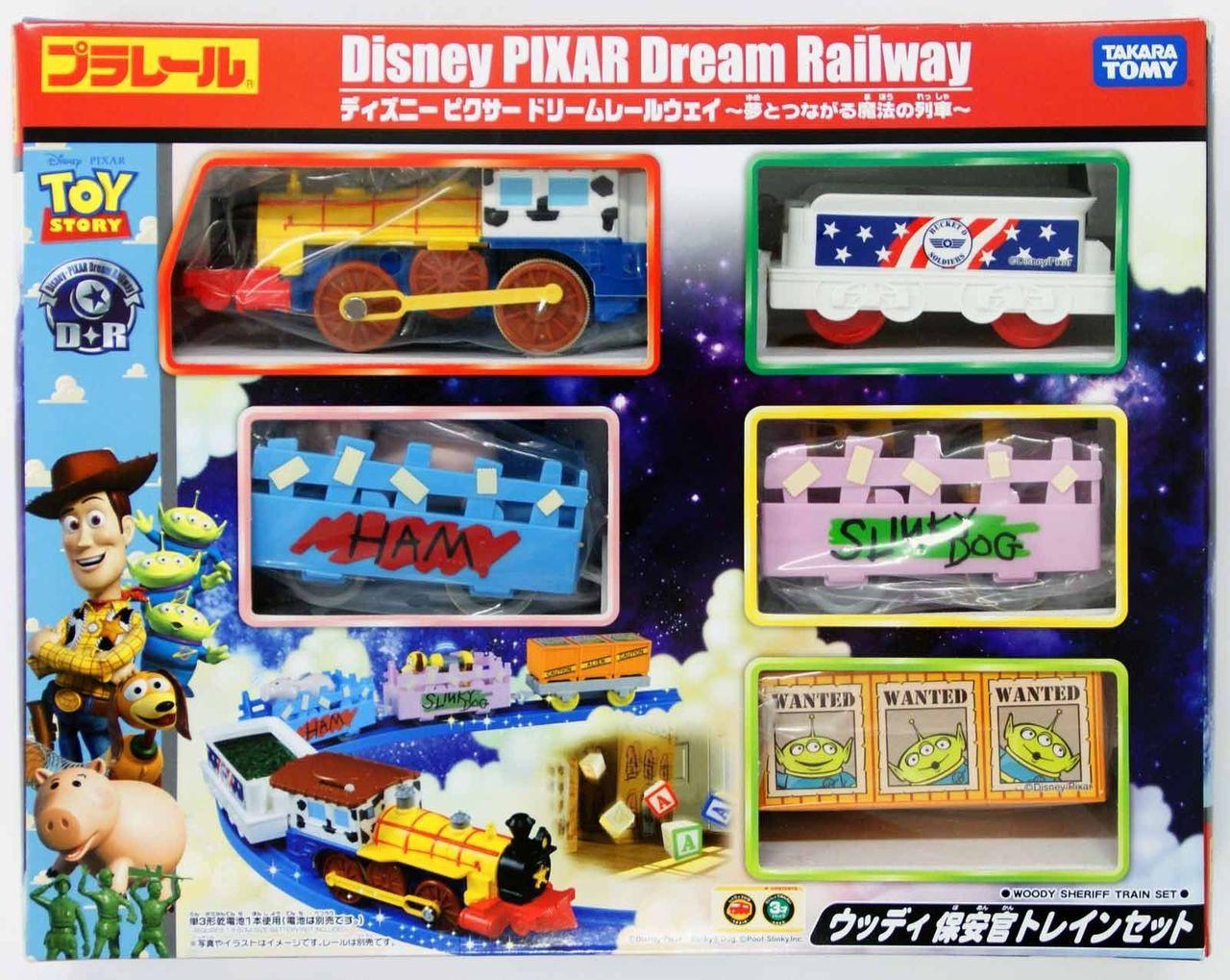 Takara Tomy Pla Rail Plarail Disney Dream Railway Toy Story Train Set 819325 Plaza Japan