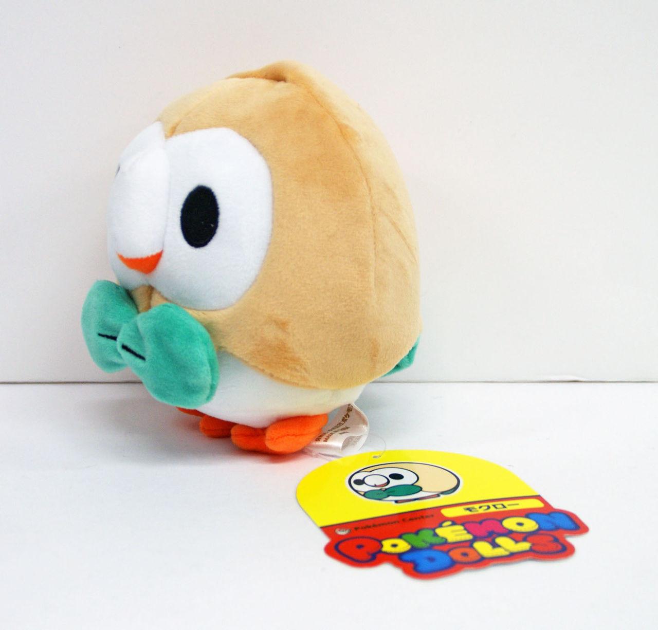 Mokuroh 4521329206875 Pokemon Center Original Plush Doll Rowlet