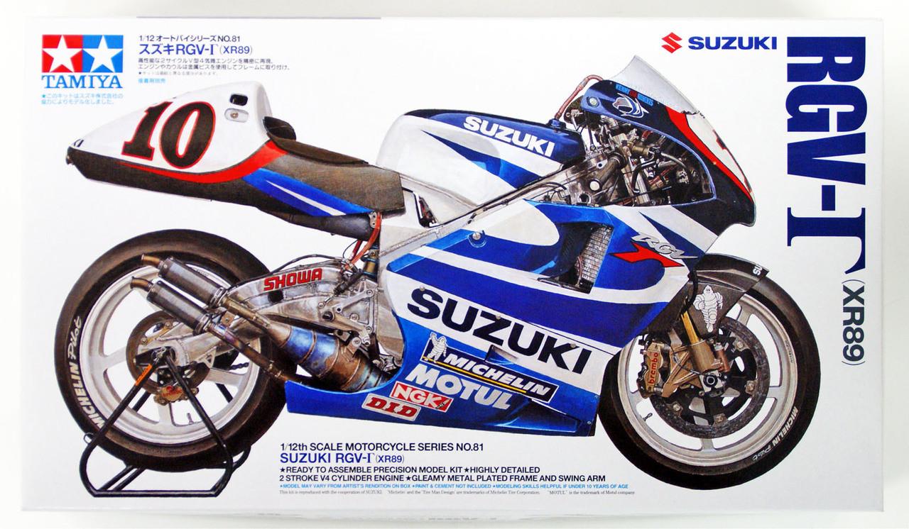 1988 Late Model Plastic Model Fujimi Bike Series 1//12 Suzuki RGV-gamma XR74